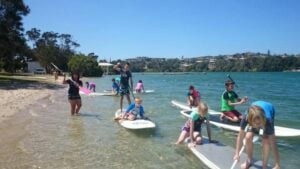 Stand Up Paddle Boarding - Fun & Unique Camp - Camp Koinonia in Northern NSW