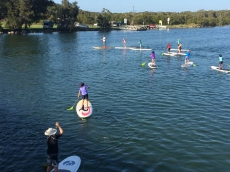 Stand Up Paddle Boarding -