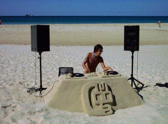 Sand Sculptures -