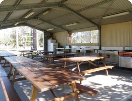 Camp Kitchen Facilities - Fun & Unique Camp - Camp Koinonia in Northern NSW