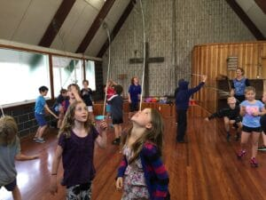 """A Taste of Circus"" Workshop - Fun & Unique Camp - Camp Koinonia in Northern NSW"