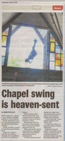 Swinging in the Chapel -